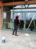 Lavaggio vetri e pannelli solari