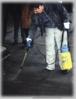 Pulizia cemento e autobloccanti da oli. Sigillatura del cemento-2